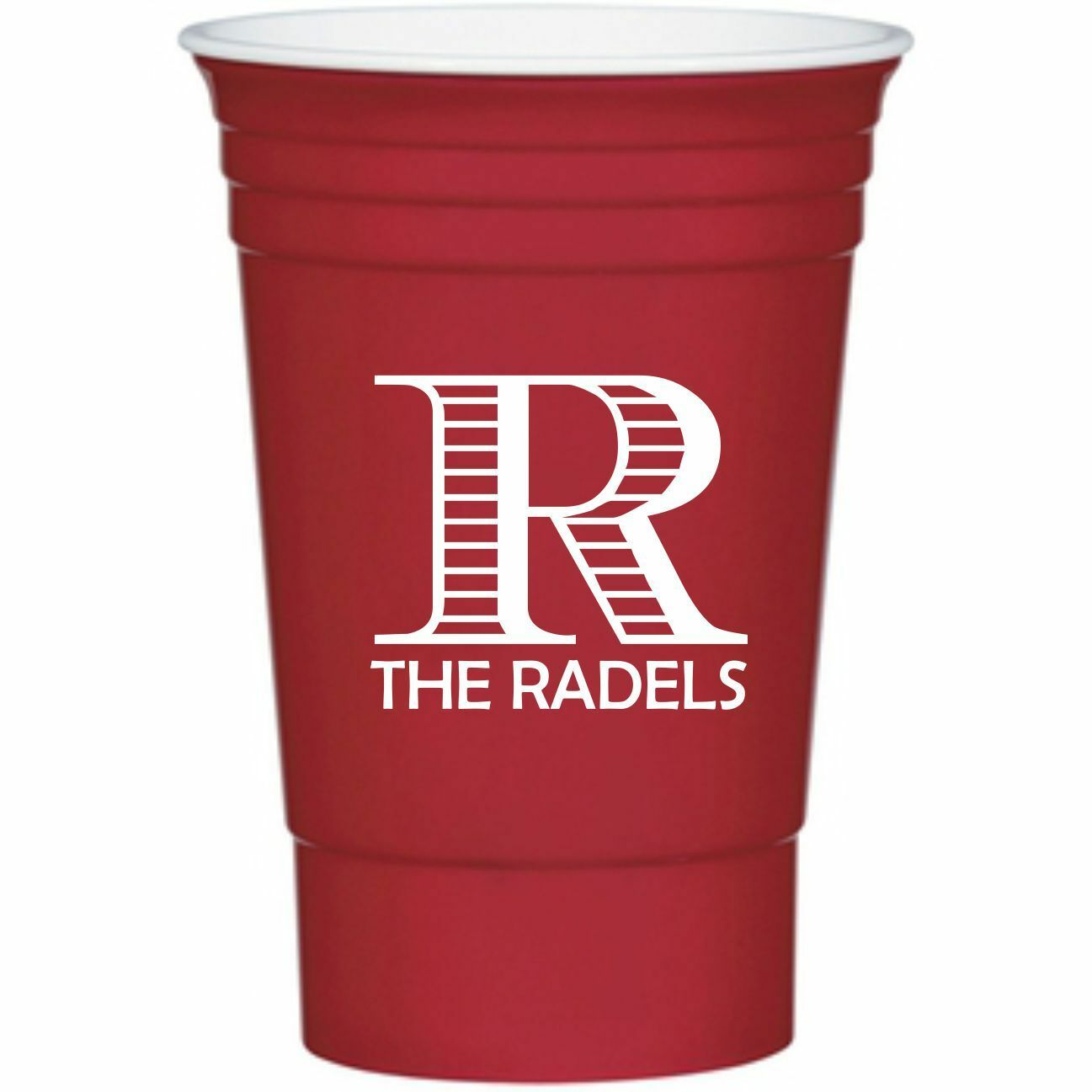16 Oz Personalized Custom Stadium Cups Wedding Favor Plastic Party Red Solo 1 Of 5free Shipping
