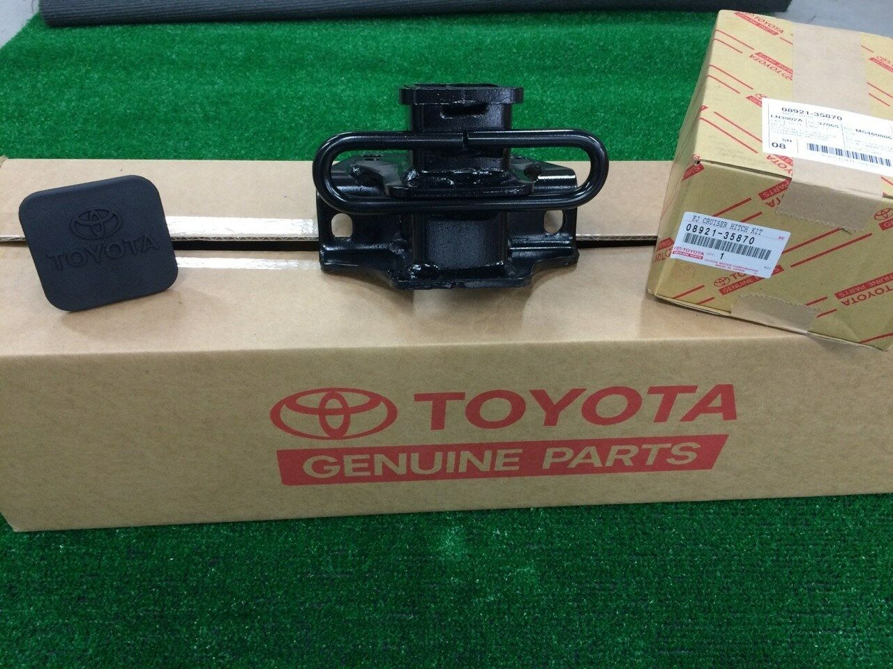 2007-2014 Toyota FJ Cruiser Tow Hitch And Wiring PT228-60060 08921-35870 1  of 3FREE Shipping See More