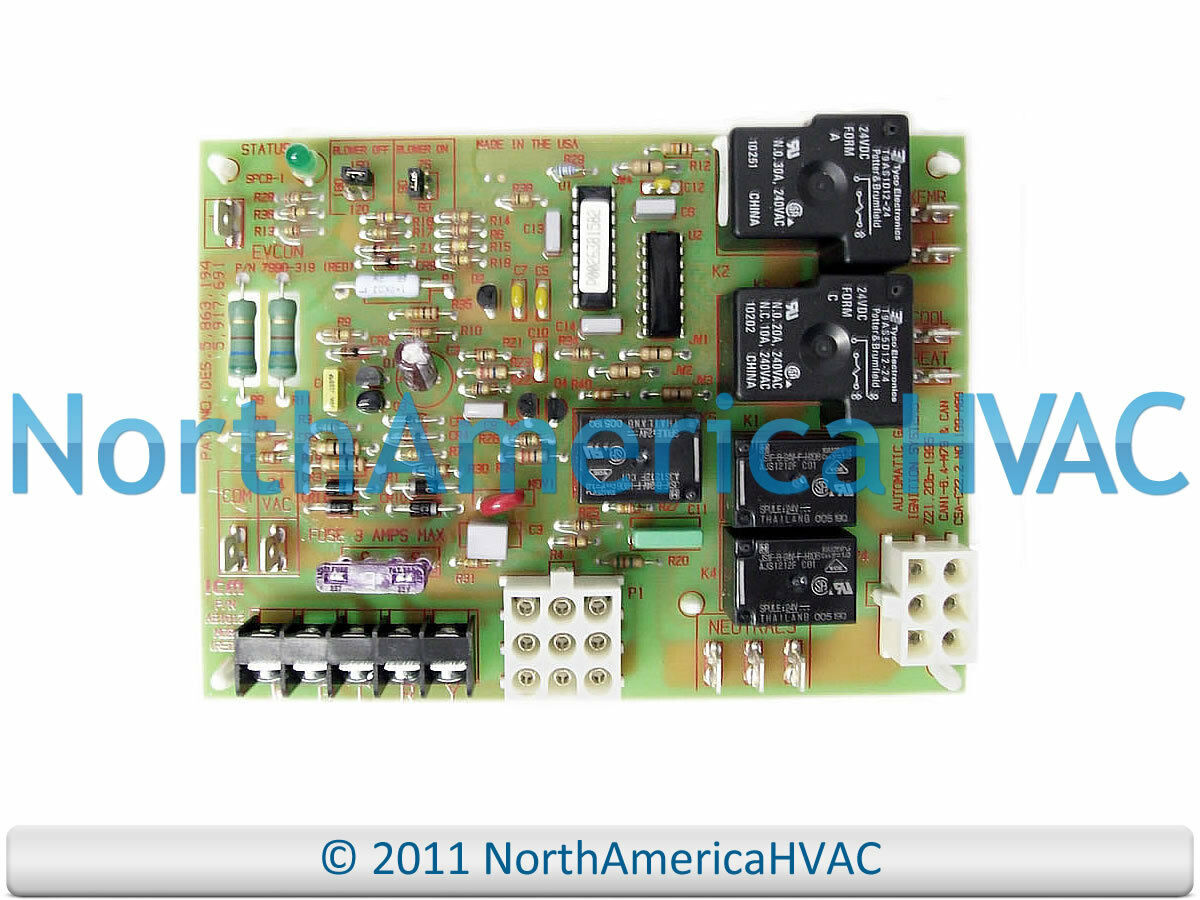 Coleman Gas Furnace Control Circuit Board 7990 319p New 11049 Evcon Dgat070bdd Wiring Diagram 1 Of 1free Shipping