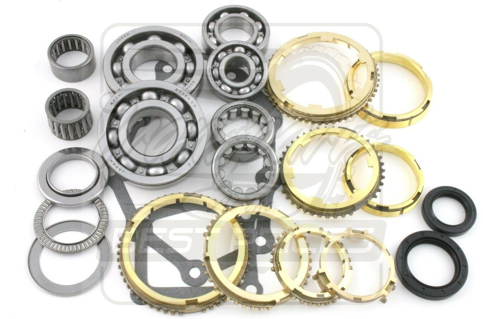 Fits Nissan FS5R30A 300ZX Pathfinder D21 Truck Transmission Rebuild Kit 6  Cyl 1 of 1 See More