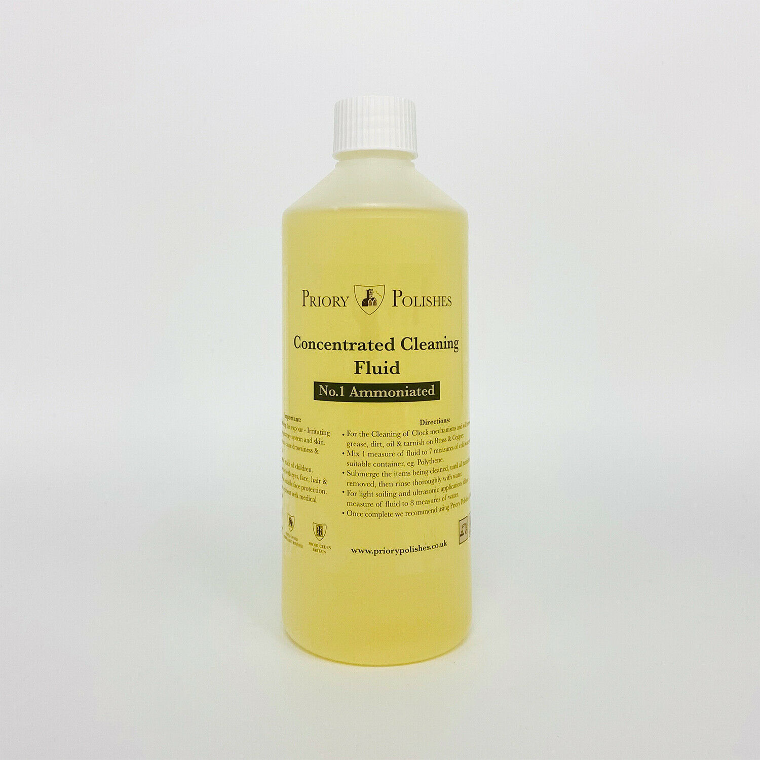 Clock Cleaning Concentrate No 1/ Brass Cleaner 500Ml