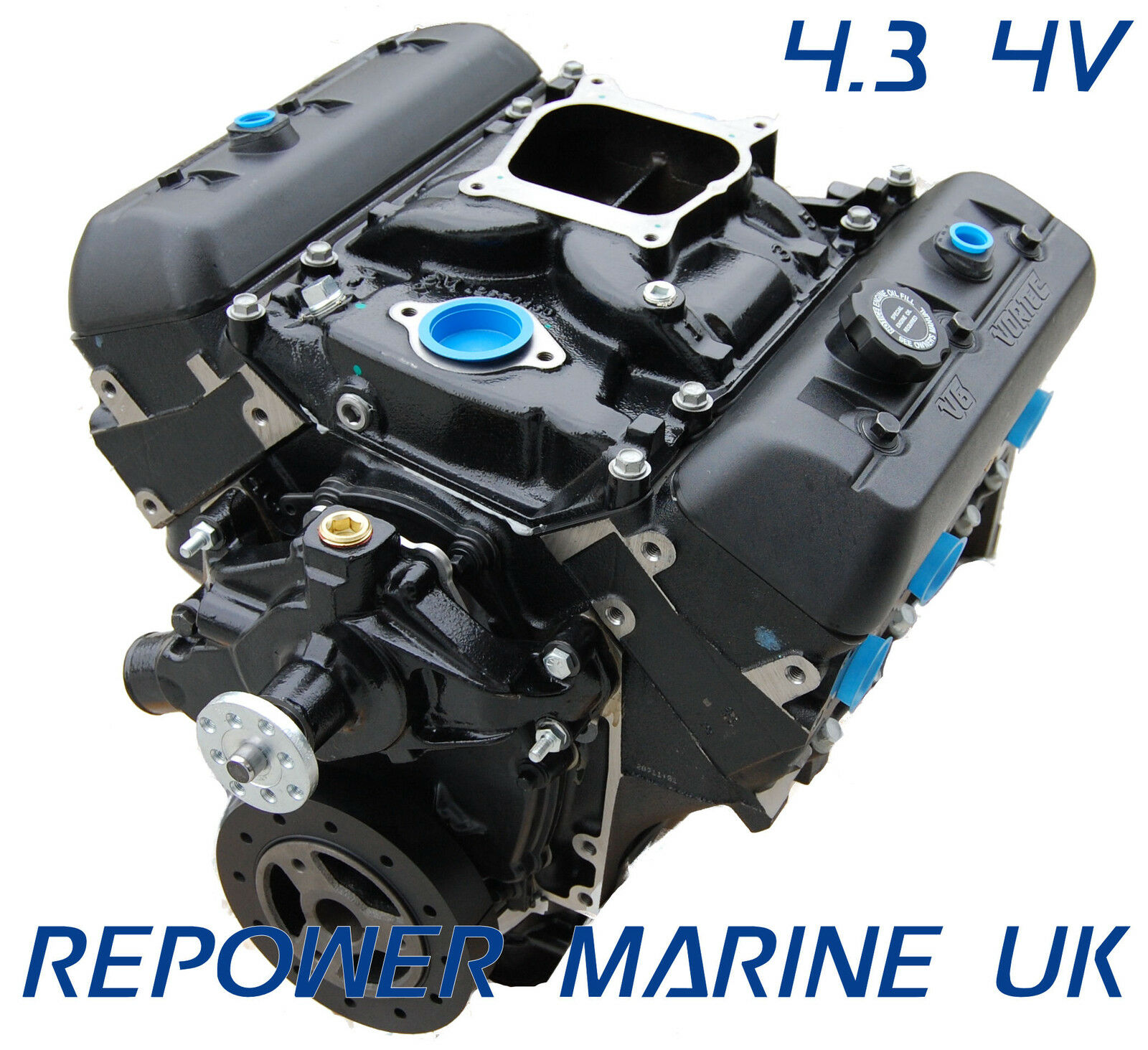 New 43l V6 Marine Engine Repower Mercruiser Volvo Penta Omc Description 3100 Enginejpg 1 Of See More