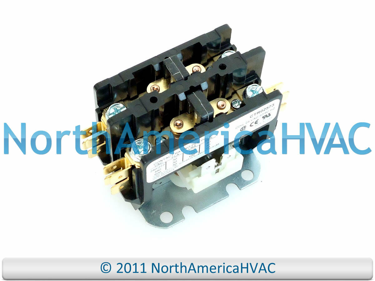 Trane Contactor Relay 2 Pole 30 Amp D70637017 Ctr1146 2699 Wiring Diagram 1 Of 1free Shipping