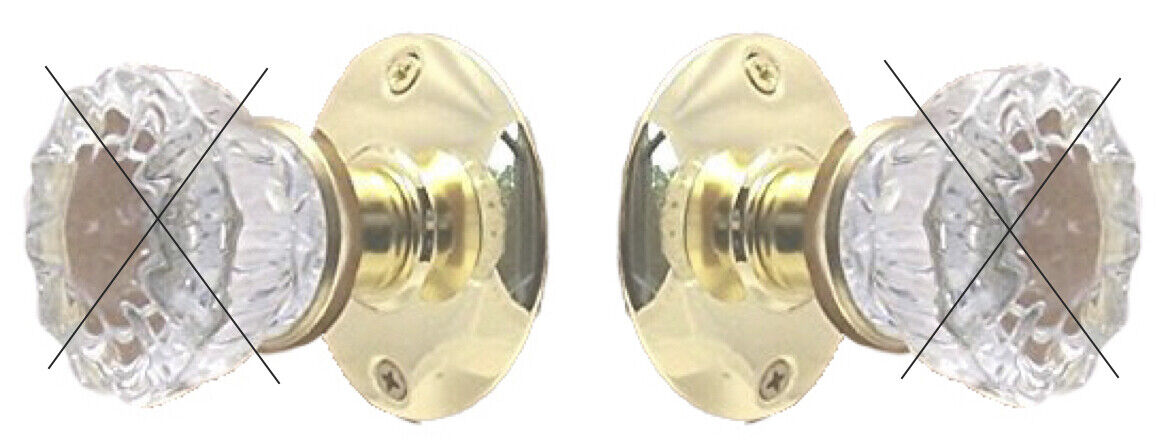 Retrofit Kit to INSTALL YOUR ANTIQUE KNOBS in Any Door