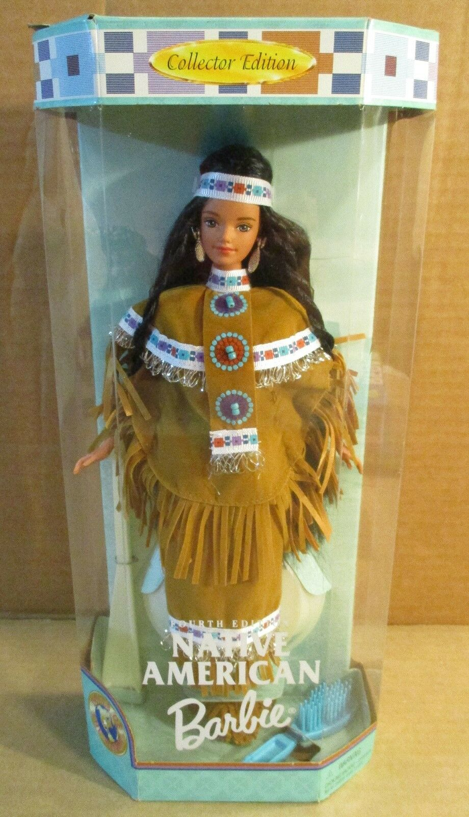 Native American Indian Barbie Doll 4th Edition Doll of The World Collection NEW