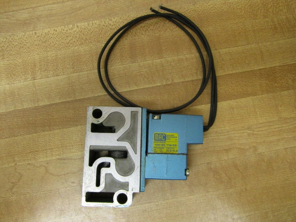 Mac Valves 913a Pm 111c Solenoid Valve 5895 Picclick Wiring 1 Of 7only Available