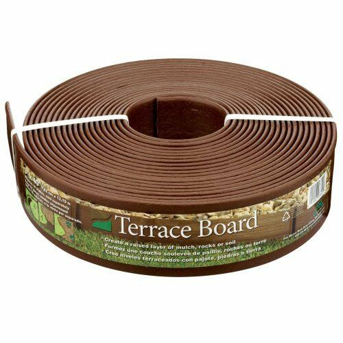 Case of 6 terrace board landscape lawn edging 240 ft for Terrace board