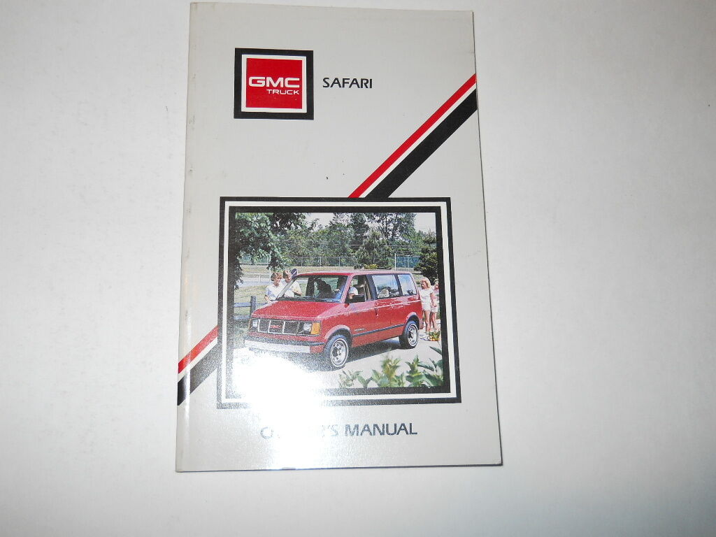 1988 GMC Safari Owner's Manual Owners Truck Van 1 of 4Only 1 available ...