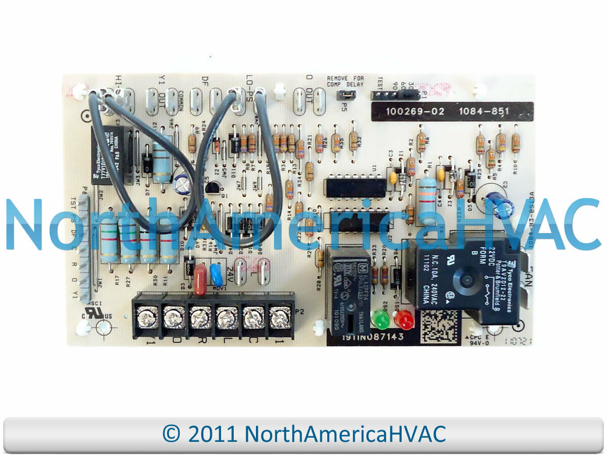 Oem Lennox Armstrong Ducane Heat Pump Defrost Control Board 84w88 Motor Wiring Diagram 1 Of See More