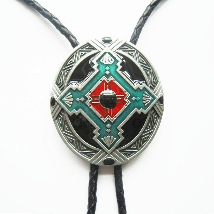 brand new indian rodeo western cowboy bolo tie