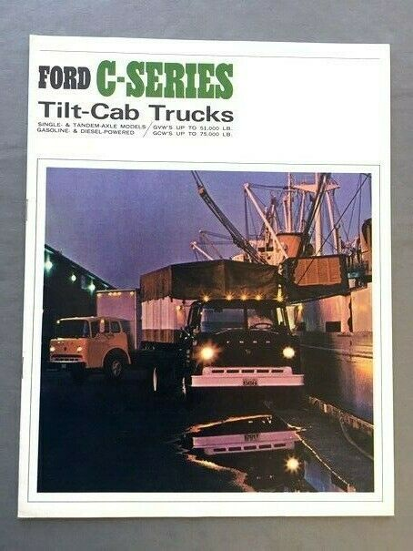 1966 Ford Truck C Series Original Sales Brochure 600 700 Ct 1980 Coe 1 Of 1only Available