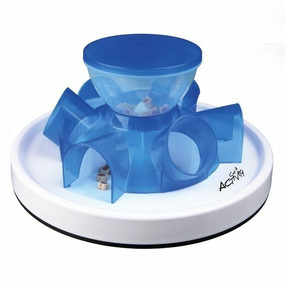 Cat Activity Tunnel Feeder Interactive Food Dispenser