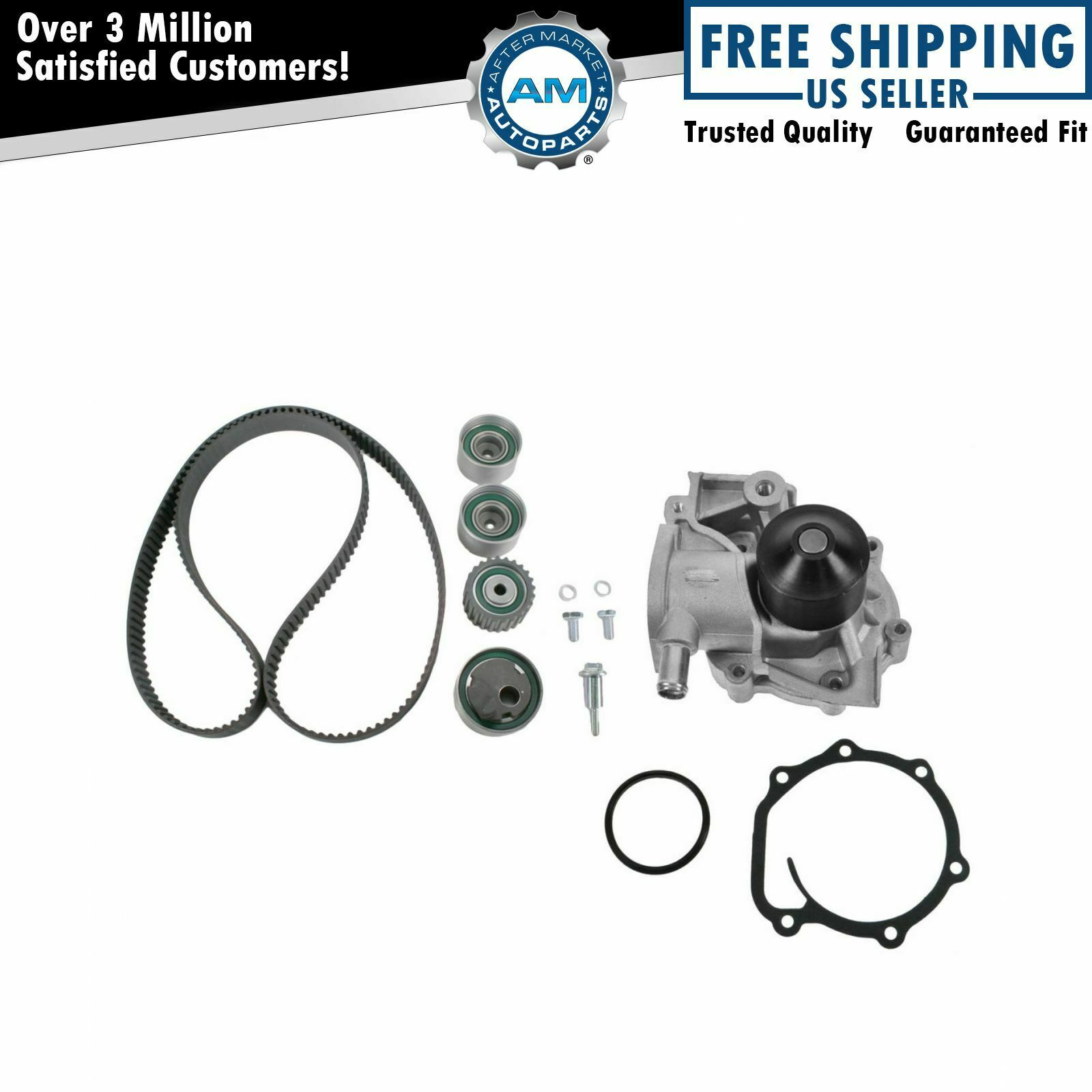 Timing Belt Water Pump Kit Set For Subaru Impreza Legacy 18l 22l 2000 Outback Marks 1 Of 5only Available
