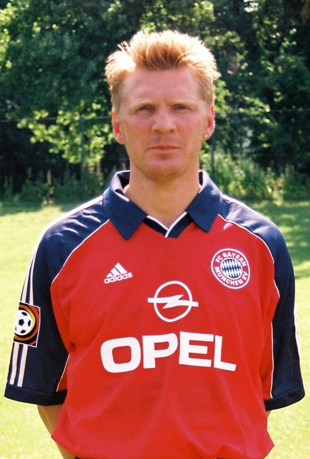 stefan effenberg bayern m nchen 1999 00 seltenes foto. Black Bedroom Furniture Sets. Home Design Ideas