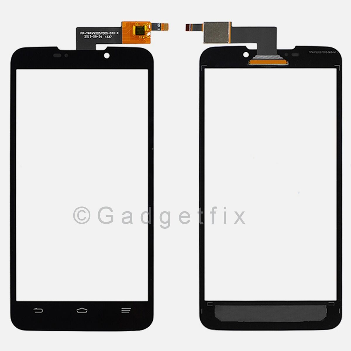 Us Black Zte Boost Max N9520 Touch Screen Digitizer Top Glass Panel Lens Parts 1394 Blade Lux V830w 1 Of 5free Shipping