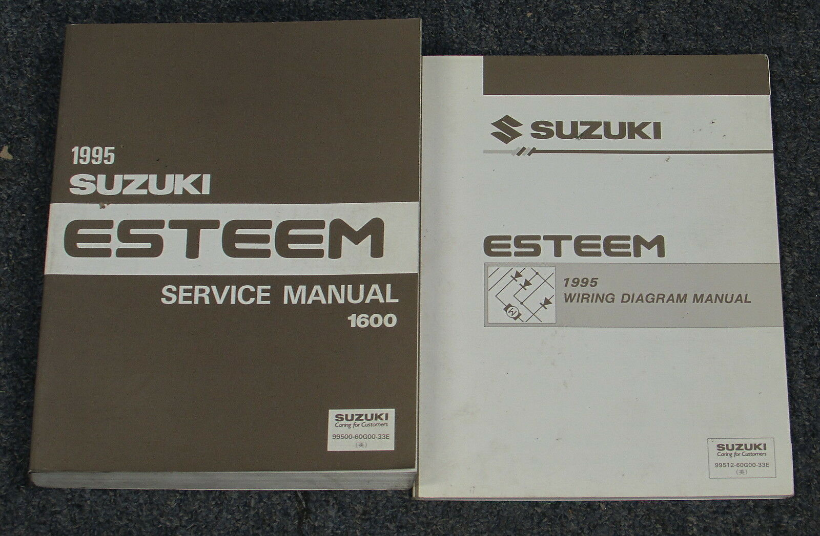 1995 Suzuki Esteem Service Manual Set 1600 3299 Picclick 2002 Engine Diagram 1 Of 1only Available