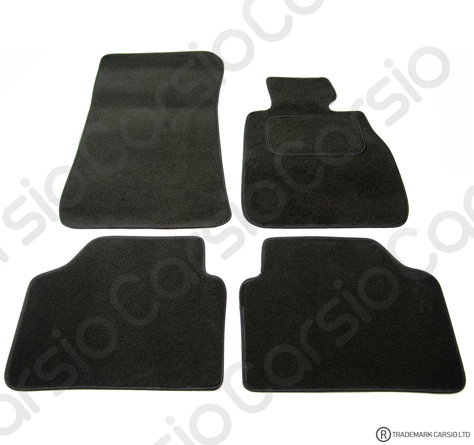 Bmw 3 Series E90 E91 2005 2012 Tailored Carpet Car Floor Mats Black 4pc Set 163 11 95 Picclick Uk