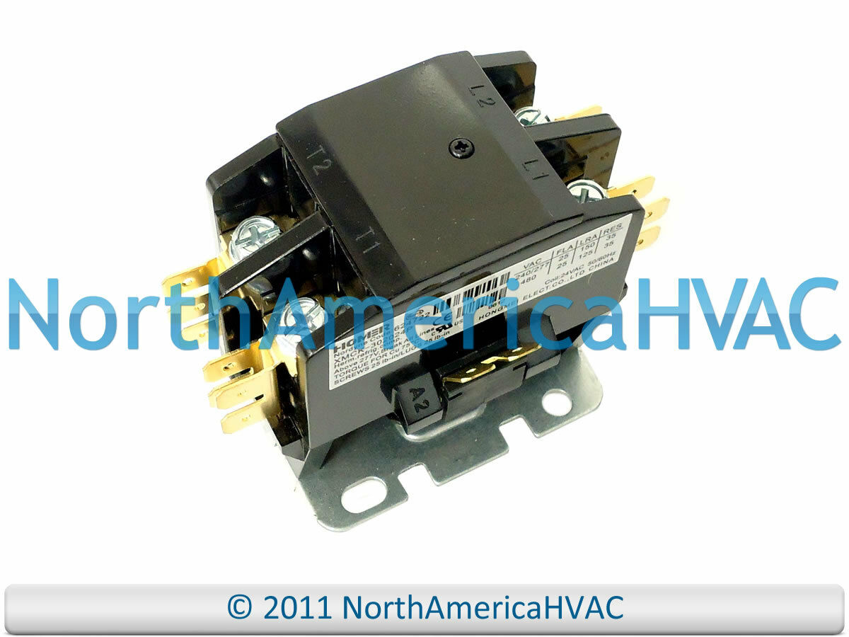 Oem Intertherm Nordyne Miller Tappan Homer 2 Pole Contactor Relay Air Conditioner Wiring Diagram 1 Of 1free Shipping