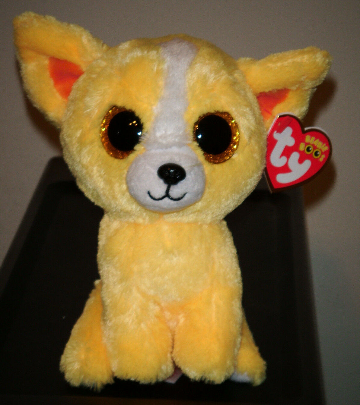 """Ty Beanie Boos - DANDELION the Gift Show Exclusive Dog ~ 6"""" ~ 2015 NEW ..."""