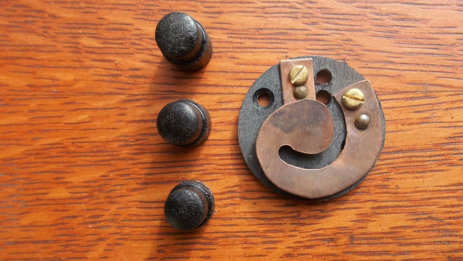 New Replacement Push Buttons & Contacts for Antique Doorbell Buttons - 3 Depths