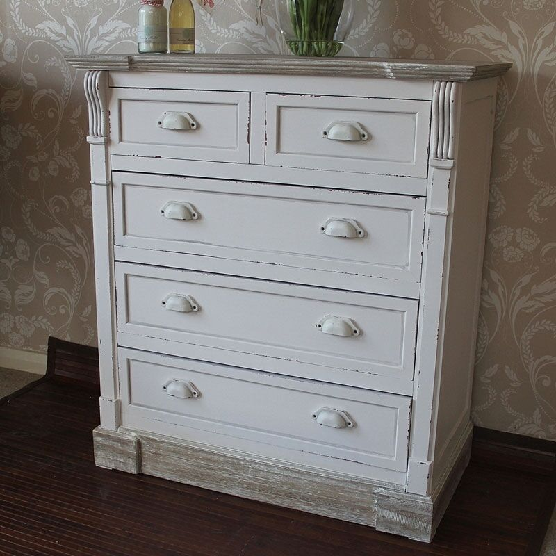 Chest Of Drawers Bedroom Furniture Cream Country Chest Of Drawers
