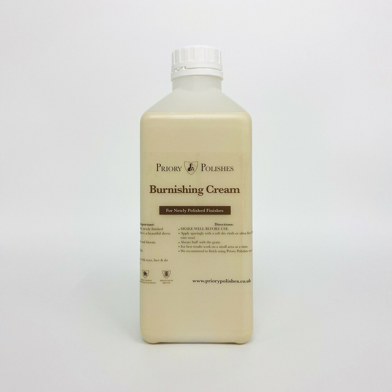 SPECIAL OFFER: PRIORY POLISHES  CLOCK CASE RESTORER  500MLS and FREE CLOCK OIL