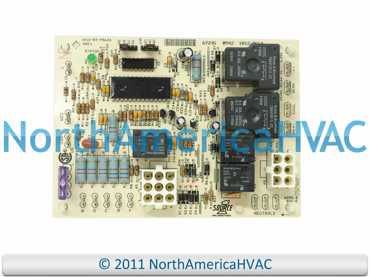 Oem Coleman Evcon Furnace Control Circuit Board 031 01932 000 Dgaa077bdta Wiring Diagram 1 Of 1free Shipping