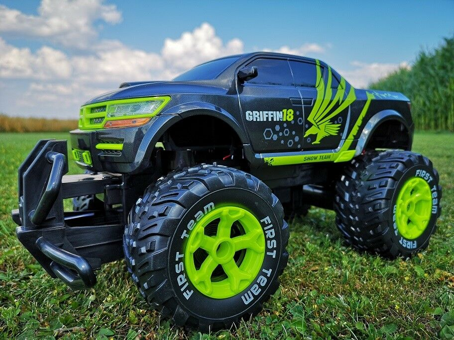 rc monster truck maverick ferngesteuertes auto. Black Bedroom Furniture Sets. Home Design Ideas