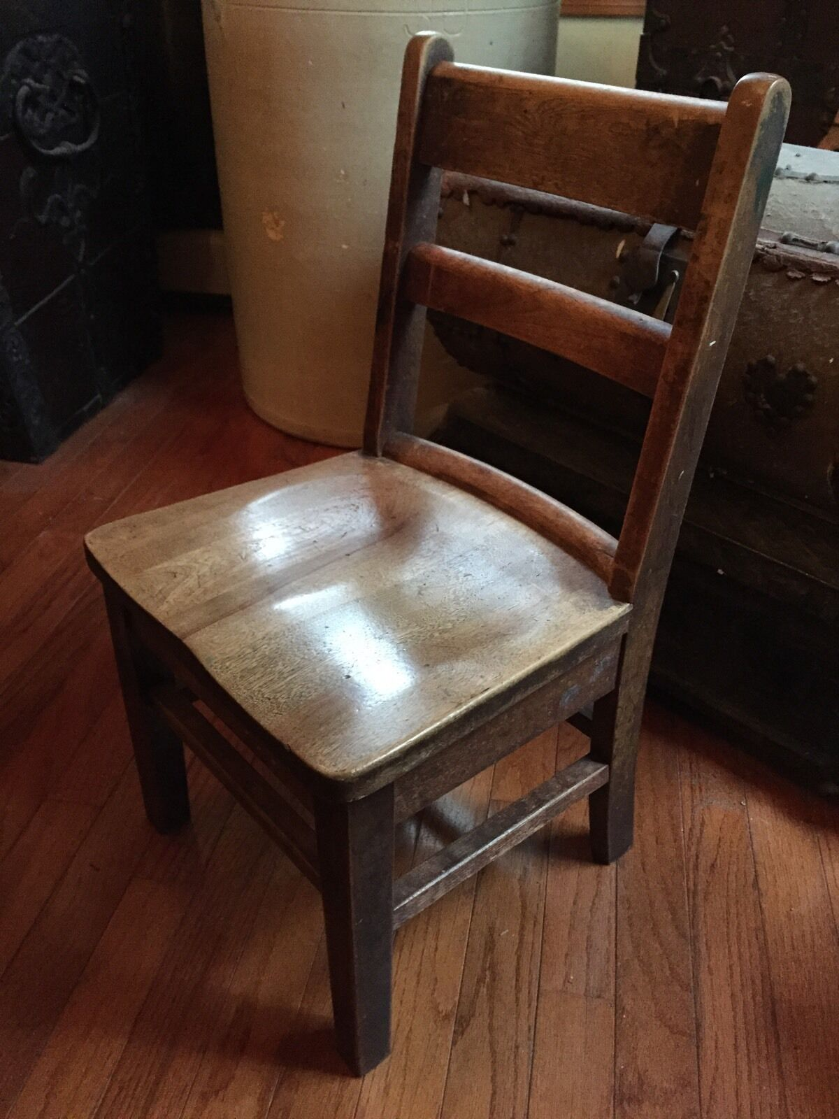 Antique School Chair 1 of 1Only 1 available ... - ANTIQUE SCHOOL CHAIR - $35.00 PicClick