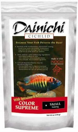 DAINICHI CICHLID COLOR SUPREME with spirulina & krill