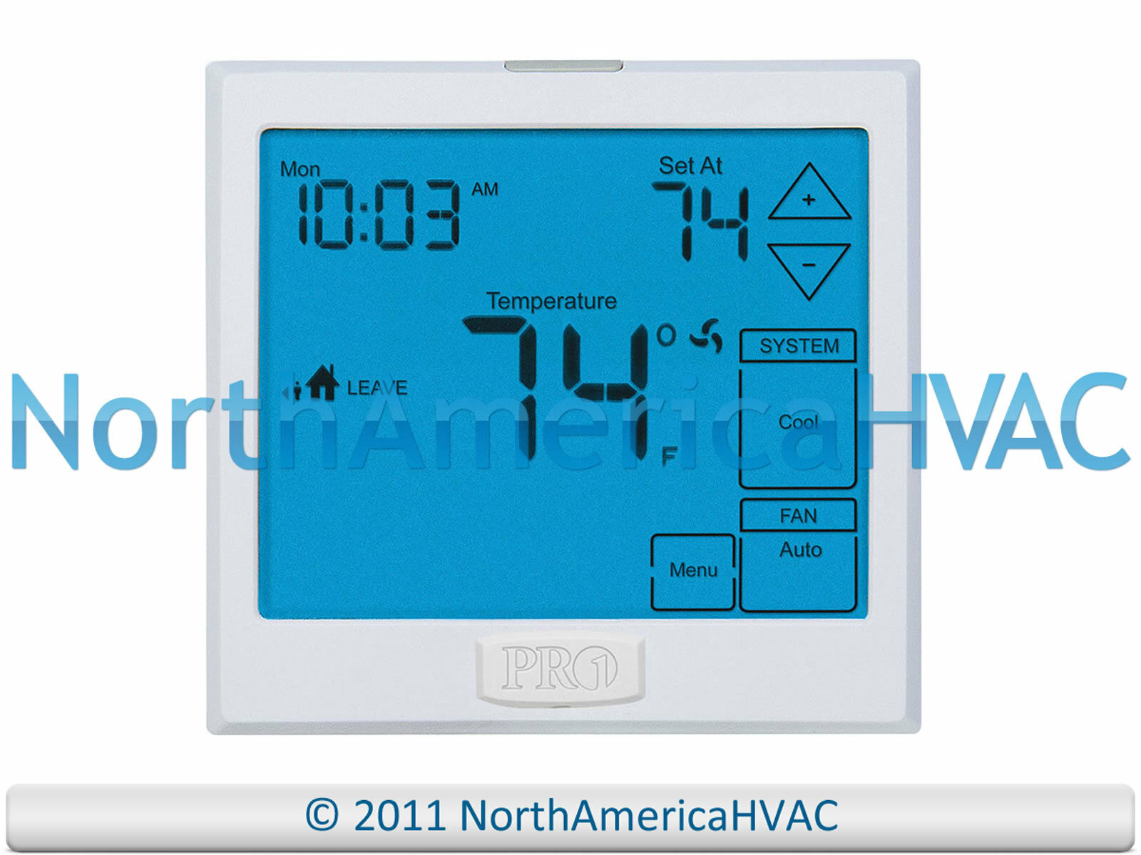 Pro1 Iaq T955 Touchscreen 7 Day Programmable Thermostat 3h 2c 3 Heat Wiring Diagram 1 Of 1free Shipping