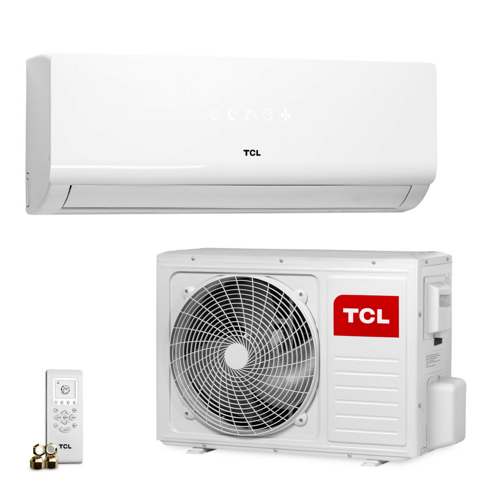 tcl klima 12000 btu split klimaanlage inverter klimager t. Black Bedroom Furniture Sets. Home Design Ideas