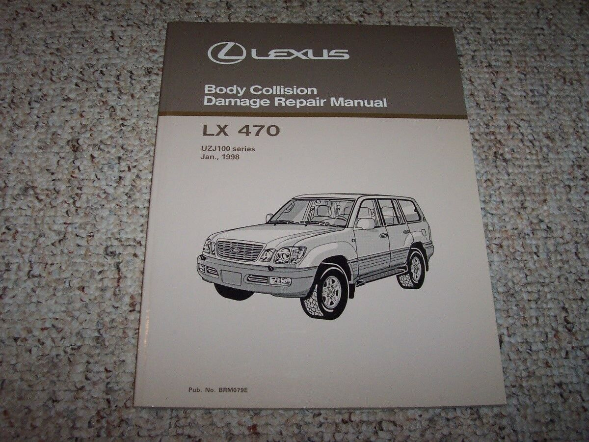 1998 Lexus LX470 Body Service Repair Manual 1999 2000 2001 2002 2003 2004  2005 1 of 1Only 1 available ...