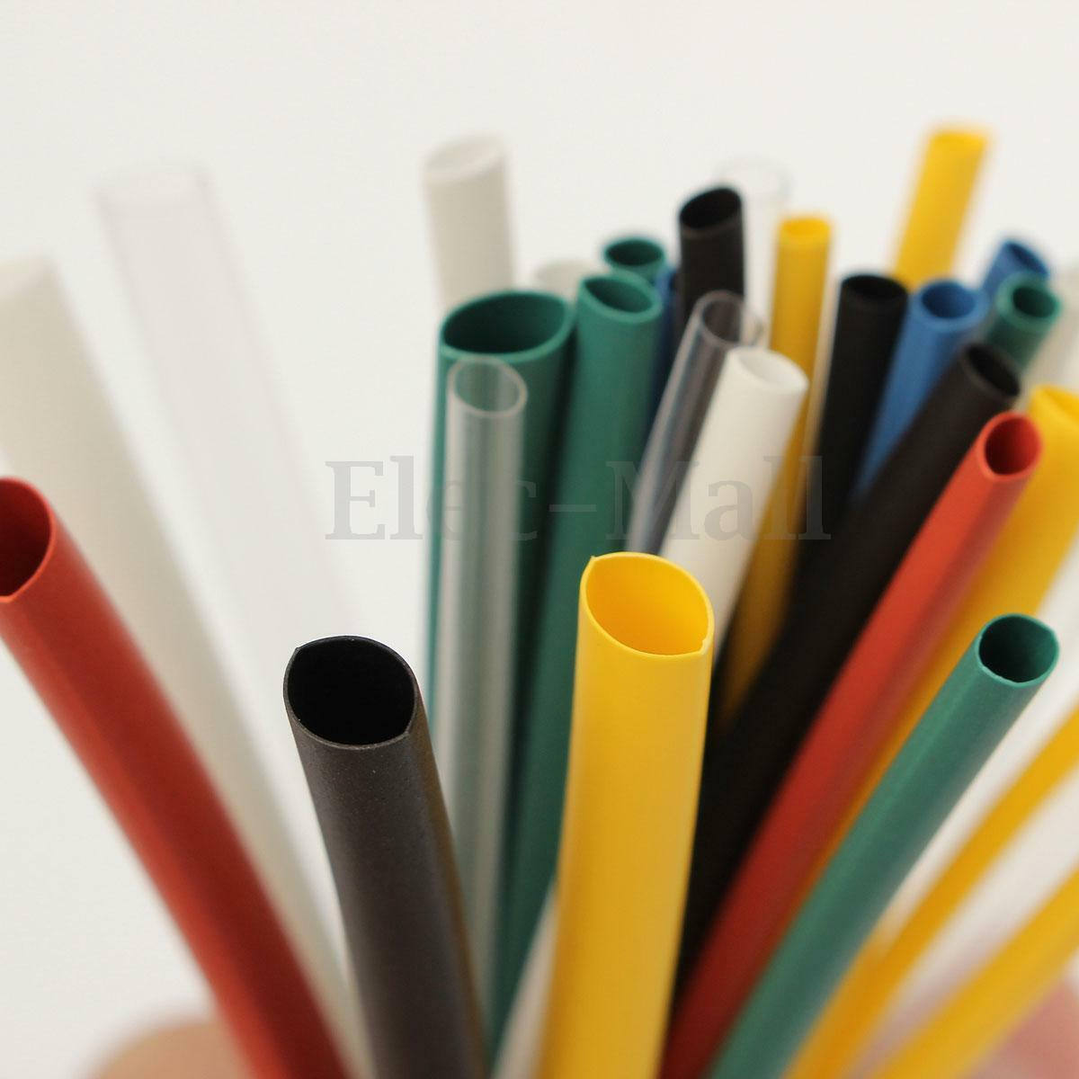 140pcs Assortment Polyolefin 21 Heat Shrink Tubing Sleeving Wrap Sleeve Wiring Harness Wire Cable Kit