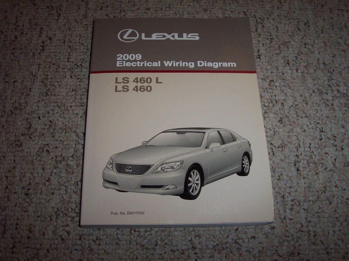 2009 Lexus Ls 460 L Ls460 Electrical Wiring Diagram Manual Awd Sedan Gs300 1 Of 1only Available