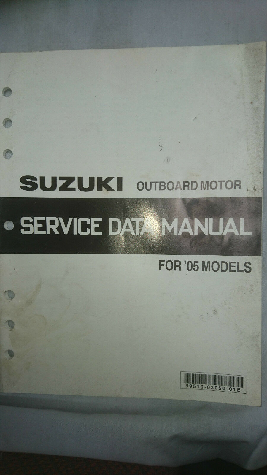 Suzuki Outboard Motor Service Data Manual 2005 Models 799 Df90 Wiring Diagram 1 Of 1only Available