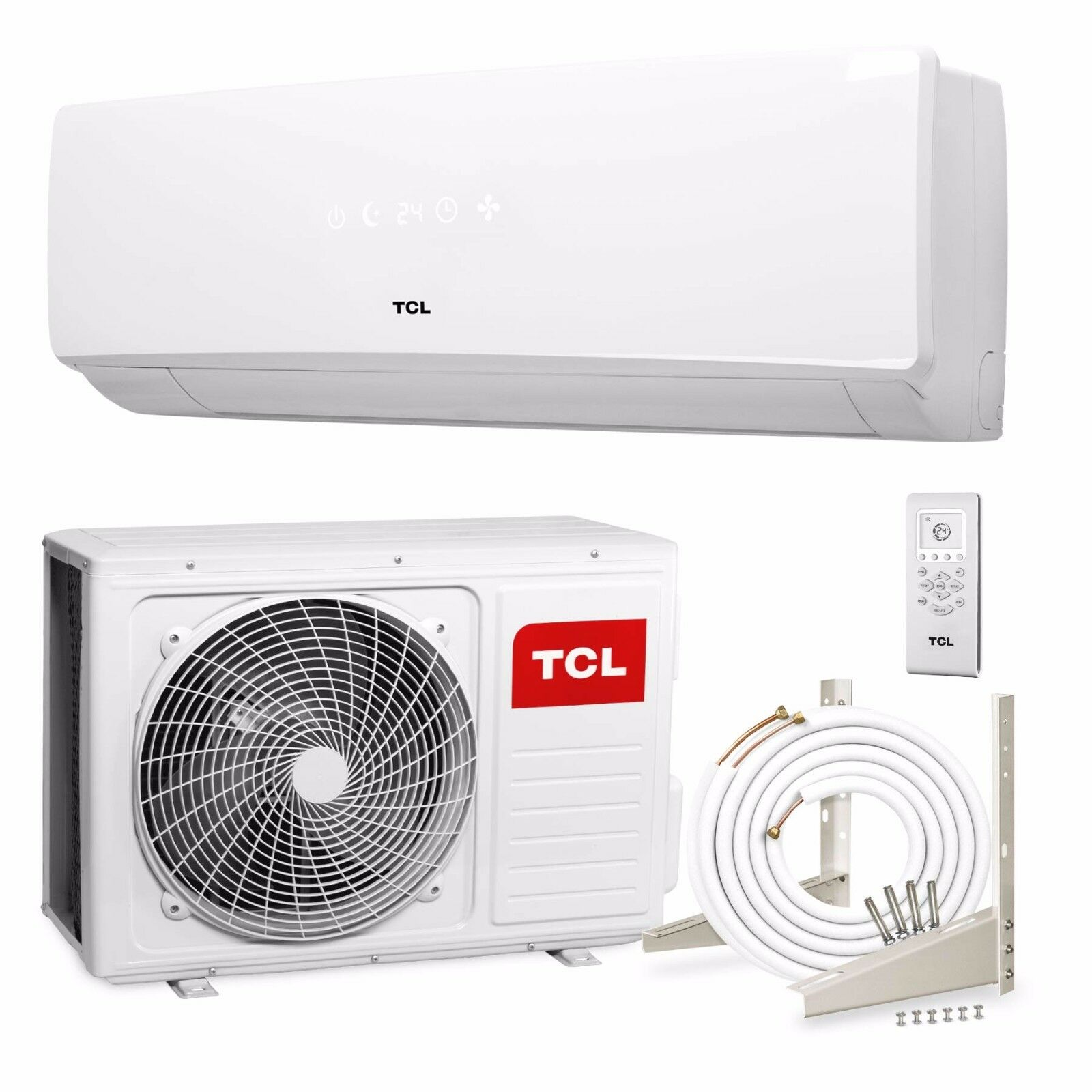 tcl inverter split klimaanlage 9000 btu 2 6kw klima. Black Bedroom Furniture Sets. Home Design Ideas
