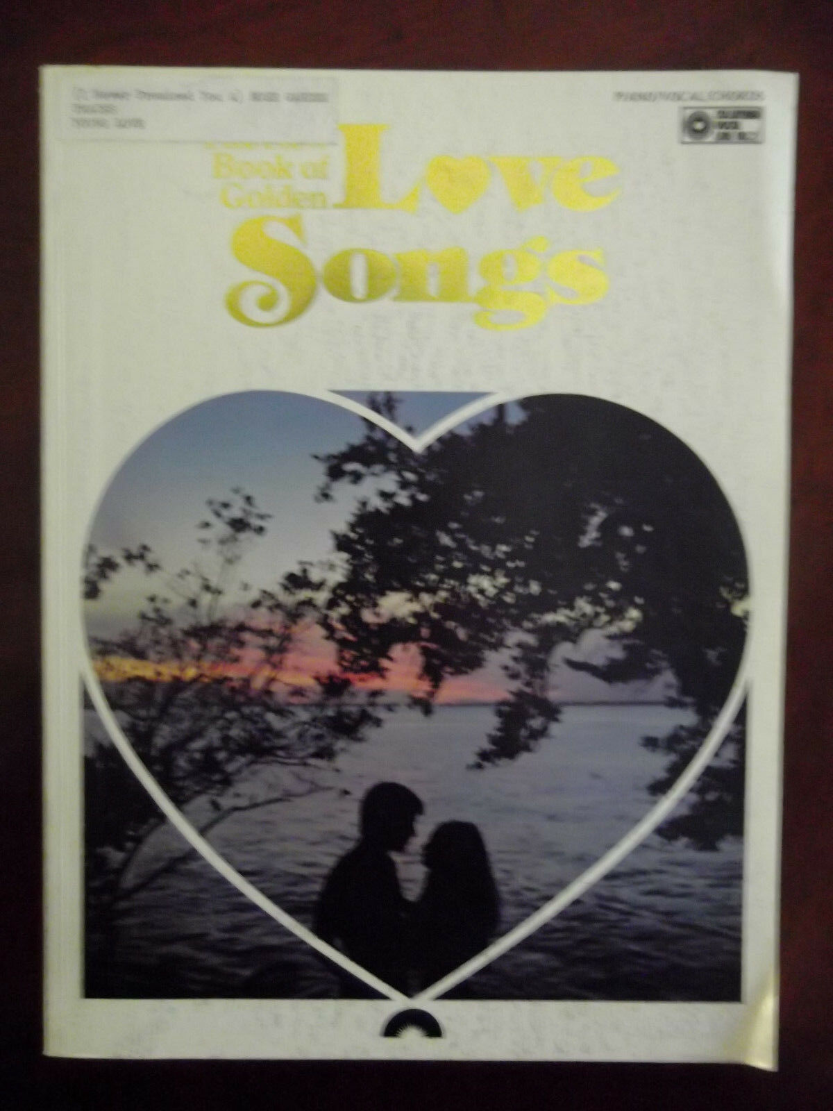 The New Book Of Golden Love Songs Sheet Music Piano Chords Vocal