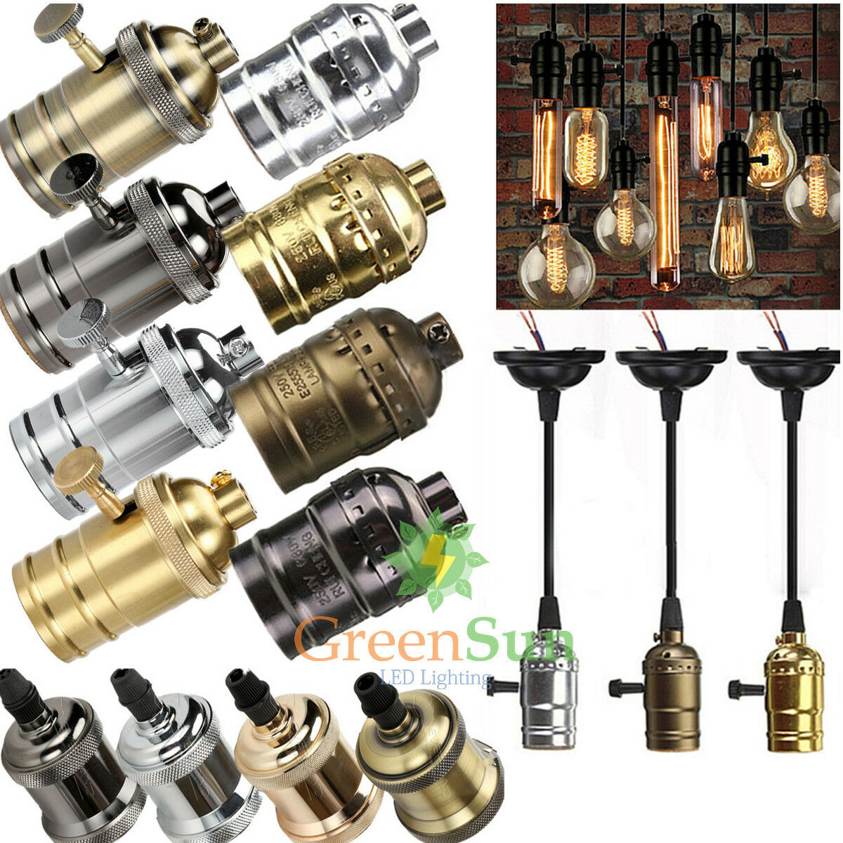 es e27 e26 ampoule titulaire douille culot pour filament edison xmas lampe bulb eur 1 29. Black Bedroom Furniture Sets. Home Design Ideas