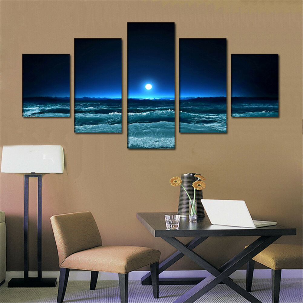 Wall Decor Big W : Large modern hand painted art oil painting wall decor