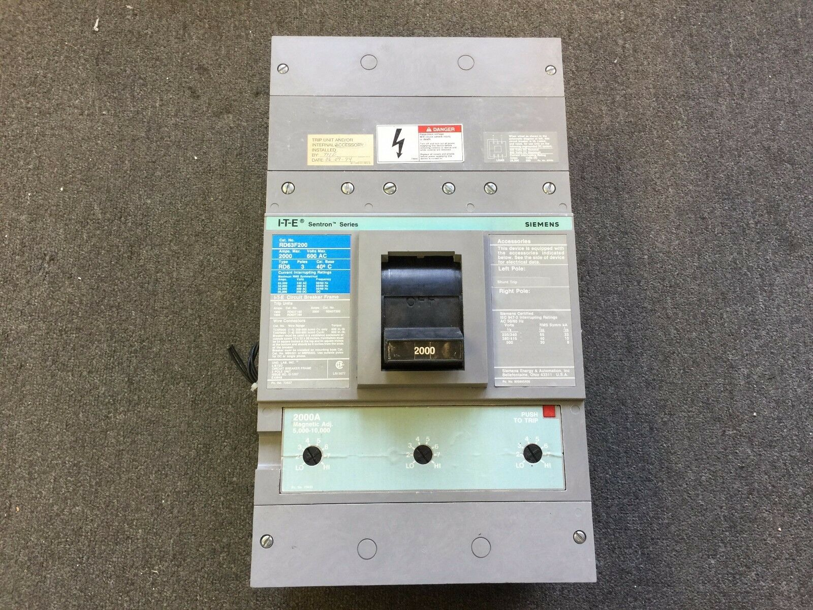 Siemens Shunt Trip Wiring Diagram S01ed60 Electrical Diagrams 3 Pole Circuit Breaker 1600 Amp Services U2022