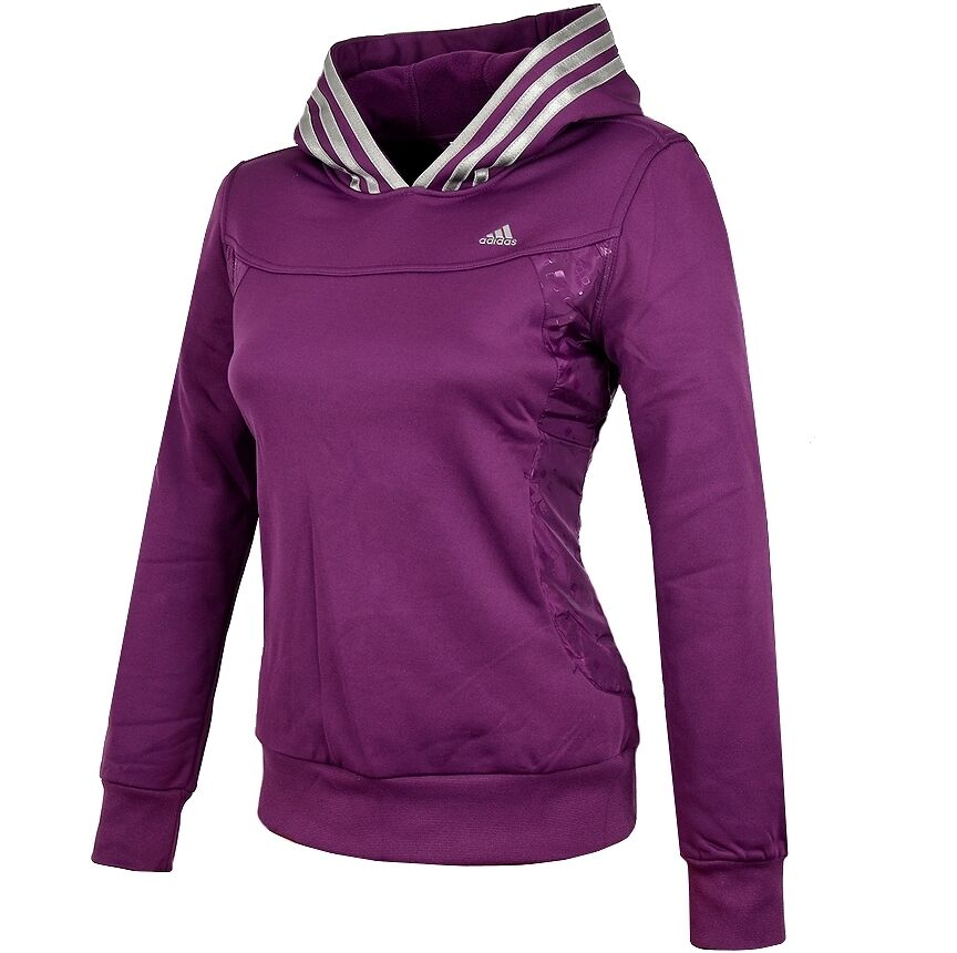 adidas damen hoodie funktions pullover sport lauf. Black Bedroom Furniture Sets. Home Design Ideas