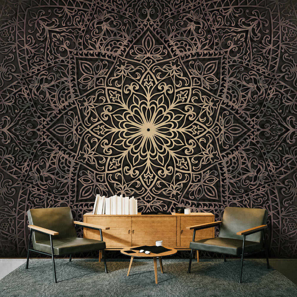 fototapete mandala ornament orient vlies tapete wandtapete 3 farben f c 0131 a b eur 6 99. Black Bedroom Furniture Sets. Home Design Ideas