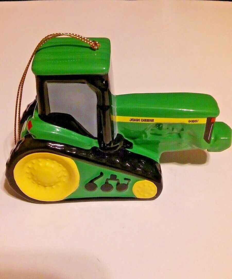 john deere tractors official licensed christmas holiday ornaments ...