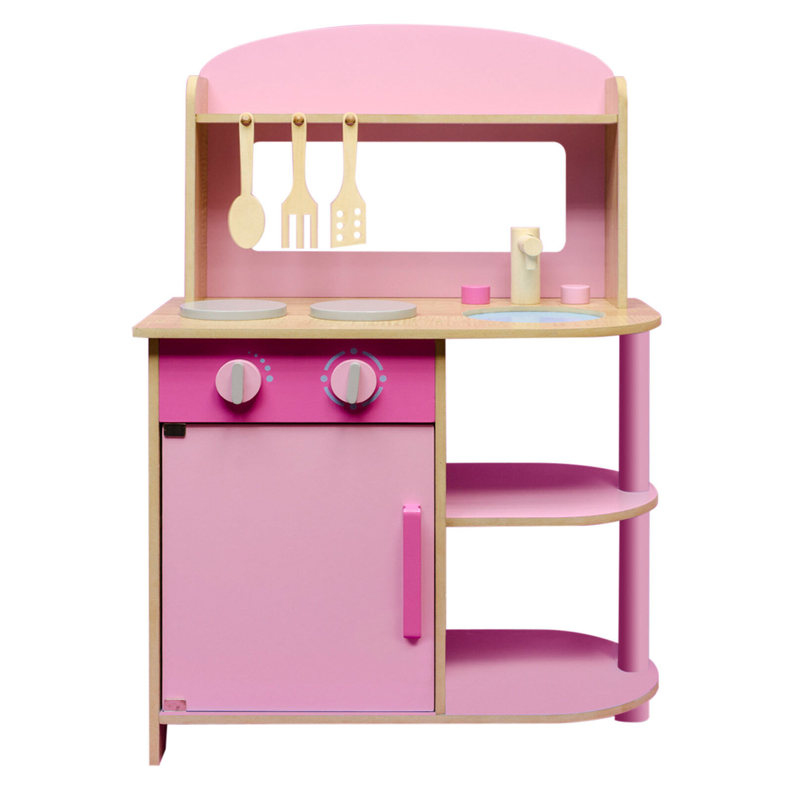spielk che spielzeugk che kinderk che holzk che kinder k che aus holz rosa pink eur 37 99. Black Bedroom Furniture Sets. Home Design Ideas