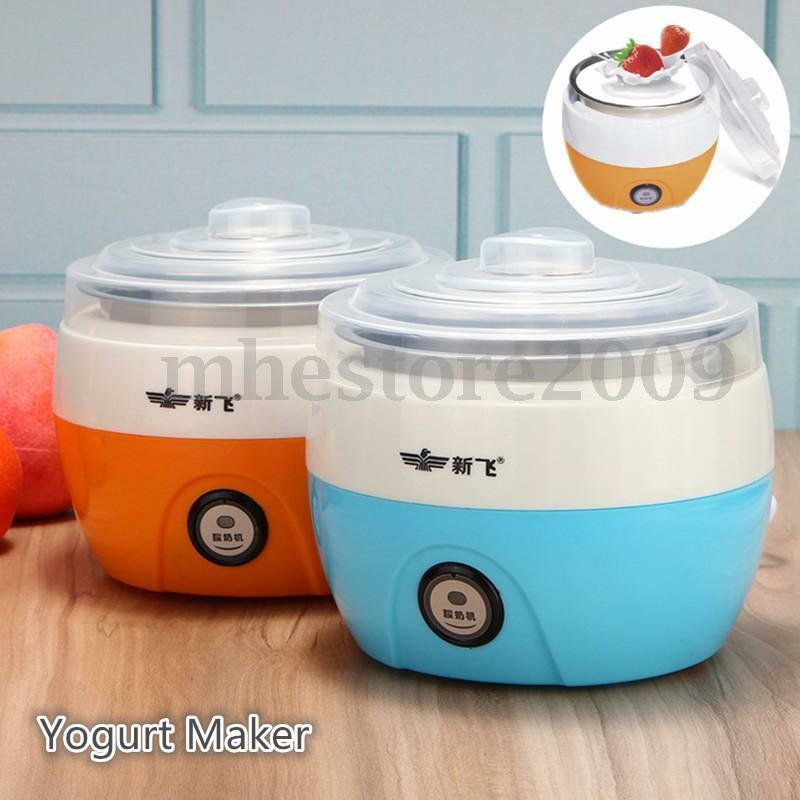 New Stainless Steel Electronic Automatic Yogurt Maker Container