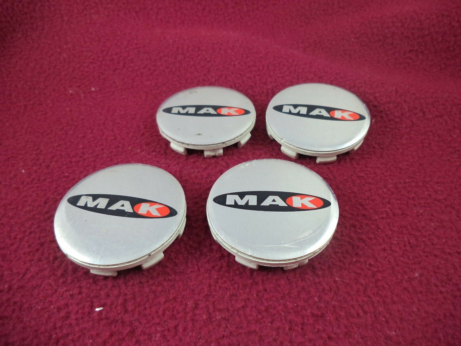 Mak Wheels Chrome Custom Wheel Center Caps Set Of Four 7900