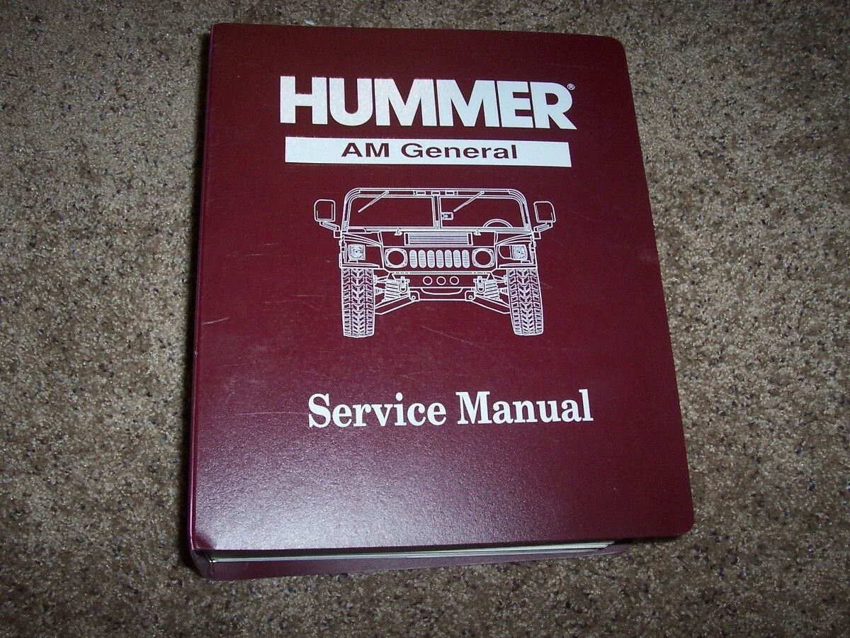 Hummer Shop Manual Samsung Sgh N620 Service Array 1993 Am General H1 Repair 6 2l V8 Hard Rh