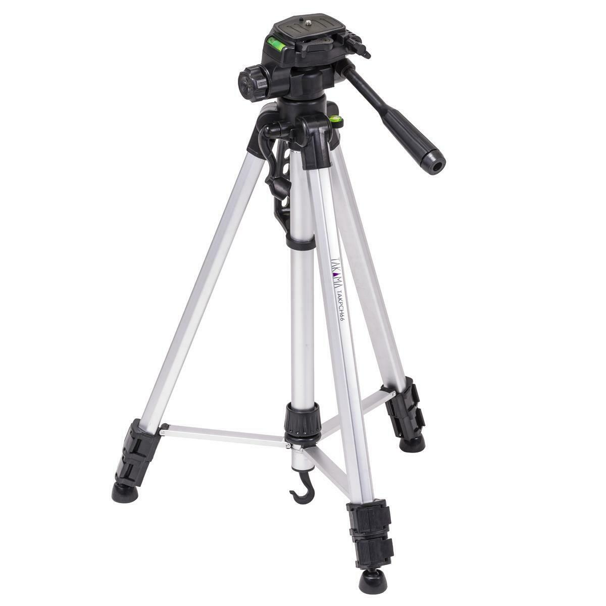 Takama 66 3 Section Tripod With Way Head Tak P3h66 2619 Weifeng Portable Stand 4 Aluminium Legs Brace 1 Of 11 See More