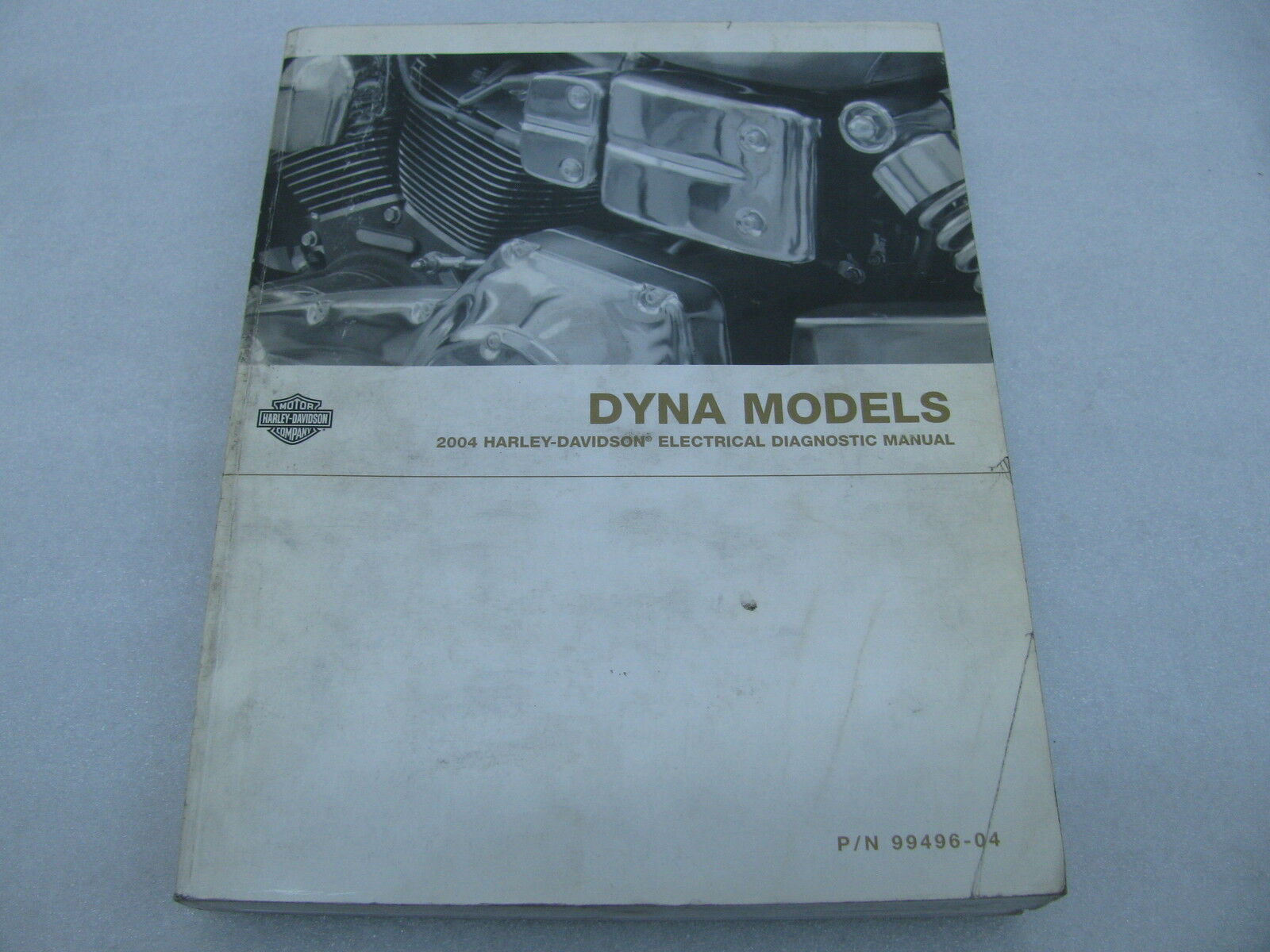 2004 Harley Davidson Dyna Electrical Diagnostic Manual Catalog Book  99496-04 1 of 2Only 1 available ...
